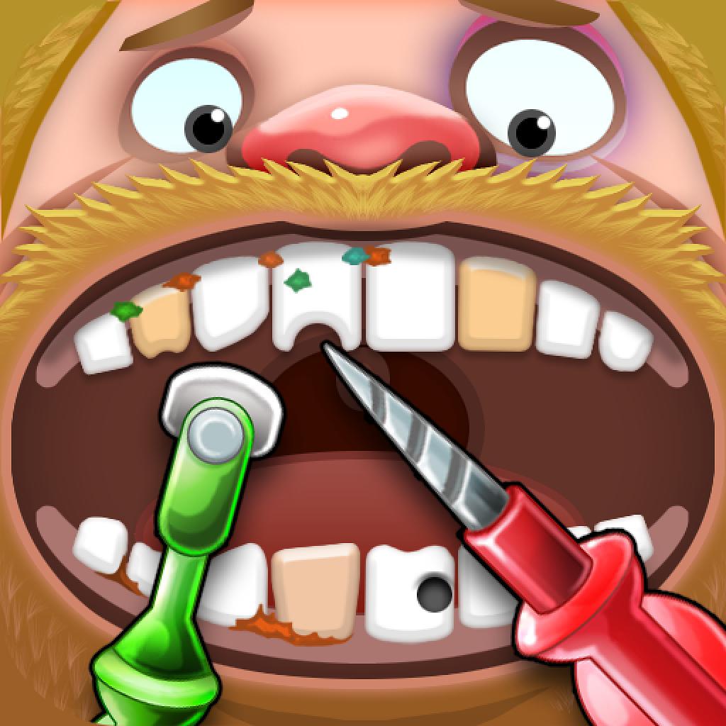 クレイジー歯科 - 子供向けゲーム